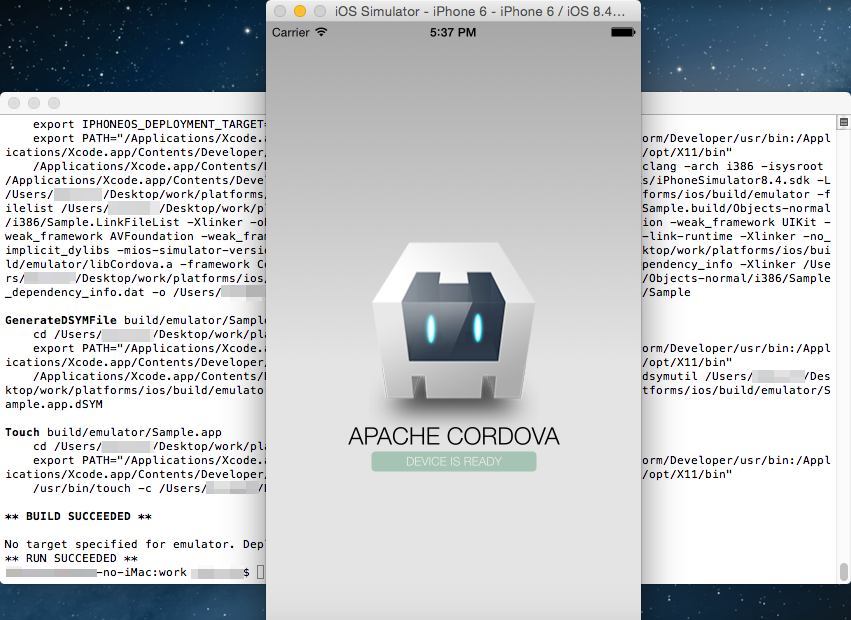 Converting to an iOS App <Creating an ipa file>